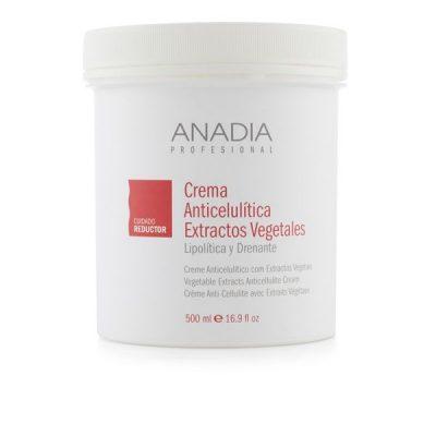 crema anticelulítica con extractos vegetales