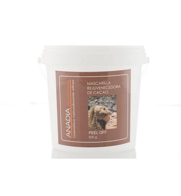 mascarilla especial para cara de cacao
