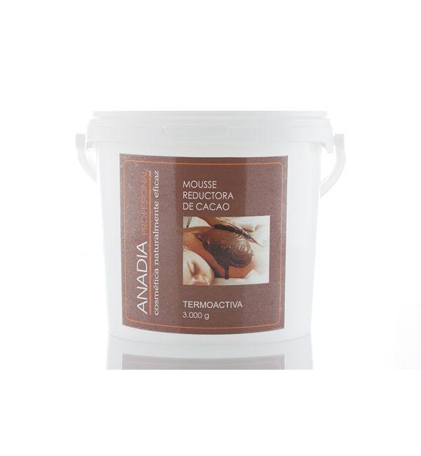 mousse reductora de chocolate