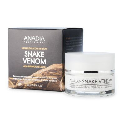 crema antiarrugas con veneno de serpiente